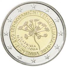 Slovenia 2010 2 € Botanical Garden of Ljubljana UNC