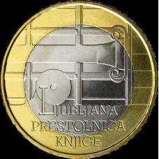 Slovenia 2010 3 € Ljubljana UNC