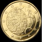 Suomi 2010 2 € Suomalainen raha 150v KULLATTU