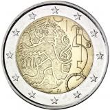 Suomi 2010 2 € Suomalainen raha 150v UNC