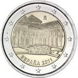 Espanja 2011 2 € Alhambra UNC