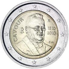 Italia 2010 2 € Cavour UNC