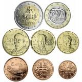 Kreikka 2010 1 c – 2 € Irtokolikot UNC
