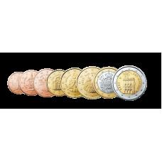 San Marino 1 c – 2 € Irtokolikot UNC