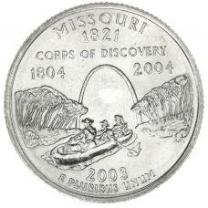 "USA 2003 $0,25 Missouri ""D"" UNC"