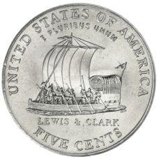 "USA 2004 $0,05 Jefferson - Keelboat ""D"" UNC"