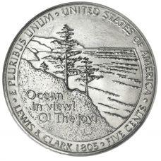 """USA 2005 $0,05 Jefferson - Ocean View """"D"""" UNC"""