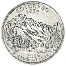 "USA 2006 $0,25 Colorado ""D"" UNC"