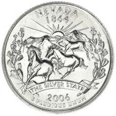 "USA 2006 $0,25 Nevada ""D"" UNC"