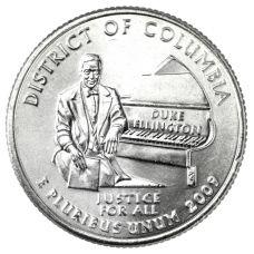 "USA 2009 $0,25 Columbia ""D"" UNC"