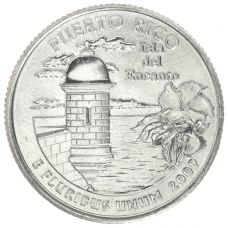 "USA 2009 $0,25 Puerto Rico ""D"" UNC"