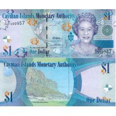 Caymansaaret 2010 $1 P38a UNC