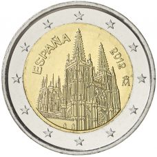 Espanja 2012 2 € Burgos UNC