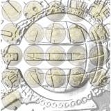 Euroopan Unioni 2012 2 € Euro 10 vuotta, kaikki maat UNC 21 kpl