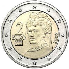 Itävalta 2002 2 € UNC