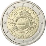 Kreikka 2012 2 € Euro 10 vuotta UNC