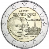 Luxemburg 2012 2 € Guillaume IV UNC