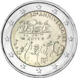Ranska 2011 2 € Fête de la Musique UNC