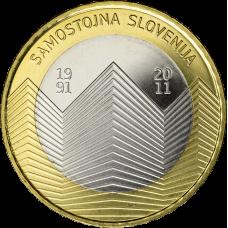 Slovenia 2011 3 € UNC
