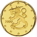 Suomi 2000 20 c UNC