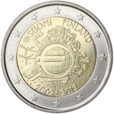 Suomi 2012 2 € Euro 10 vuotta UNC