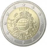 Viro 2012 2 € Euro 10 vuotta UNC