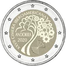 Andorra 2020 2 € Iberoamerikkalainen huippukokous BU
