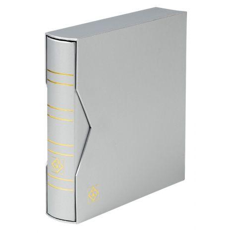 Keräilykansio, Leuchtturm NUMIS Classic kotelossa ilman lehtiä - hopea (361111)