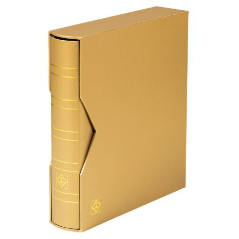 Keräilykansio, Leuchtturm OPTIMA Classic kotelossa ilman lehtiä - kulta (361113)