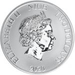 Niue 2020 2 Dollars Boba Fett 1 unssi HOPEA
