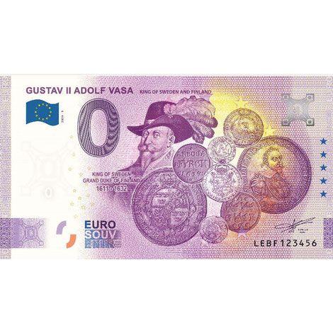 Suomi 2020 0 € Gustaf II Adolf Vasa - 5v juhlaversio (LEBF 2020-3) UNC
