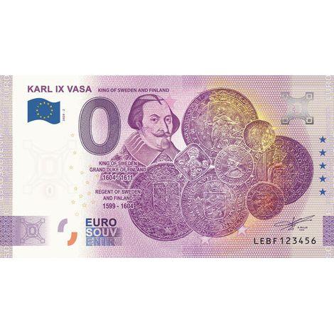 Suomi 2020 0 € Karl IX Vasa (LEBF 2020-2) UNC