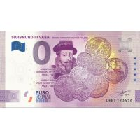 Suomi 2020 0 € Sigismund III Vasa - 5v juhlaversio (LEBF 2020-1) UNC
