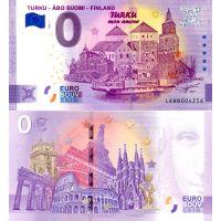 Suomi 2020 0 € Turku - 5v juhlaversio (LEBD 2020-1) UNC