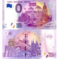 Suomi 2020 0 € Turku (LEBD 2020-1) UNC
