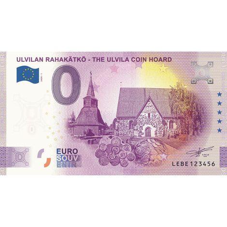 Suomi 2020 0 € Ulvilan rahakätkö (LEBE 2020-1) UNC