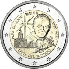 Vatikaani 2020 2 € Johannes Paavali II UNC