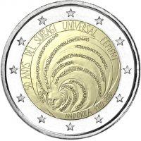Andorra 2020 2 € Naisten äänioikeus 50 vuotta BU