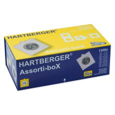 Hartberger Assorti-box 1200 kpl niitattavaa kehystä