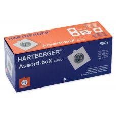 Hartberger Assorti-box EURO 500 kpl kehystä tarralla
