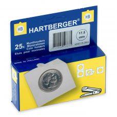Kolikkokehys, Hartberger 17,5 mm - 25 kpl pakkaus