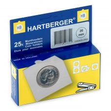 Kolikkokehys, Hartberger 20 mm - 25 kpl pakkaus