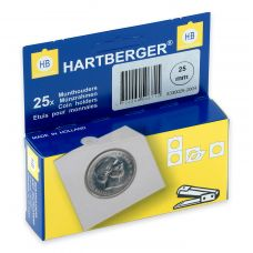 Kolikkokehys, Hartberger 25 mm - 25 kpl pakkaus