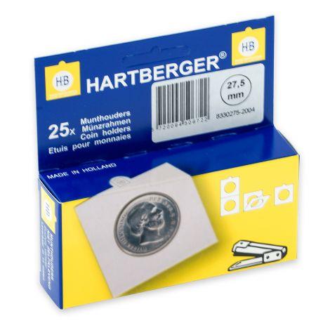 Kolikkokehys, Hartberger 27,5 mm - 25 kpl pakkaus