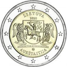 Liettua 2020 2 € Aukštaitija UNC