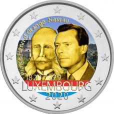Luxemburg 2020 2 € Henry of the Netherlands VÄRITETTY