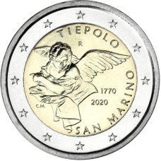 San Marino 2020 2 € Tiepolo COINCARD