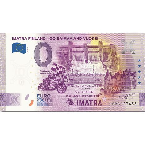 Suomi 2020 0 € Imatra (LEBG 2020-1) UNC