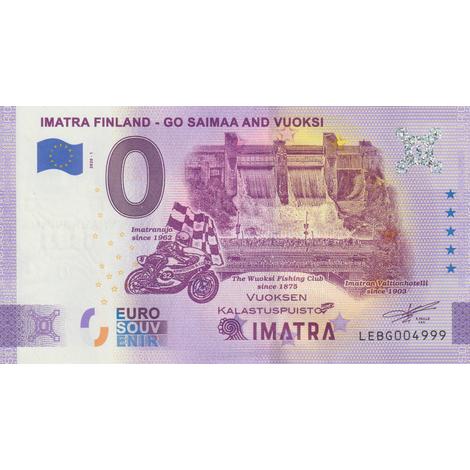 Suomi 2020 0 € Imatra - virhepainos (LEBG 2020-1) UNC