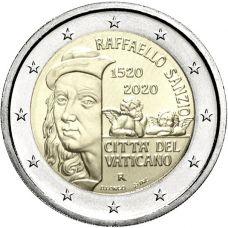 Vatikaani 2020 2 € Raphael Sanzio UNC